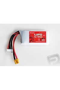 Power Pack LiPo 4/450 14,8 V 50C XT-30TA4