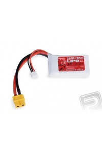 Power Pack LiPo 2/850 7,4 V 50C XT604