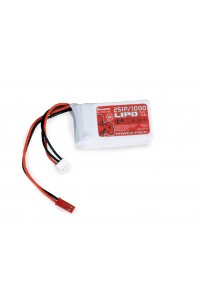Power Pack LiPo 2/1000 7,4 V 30C BEC