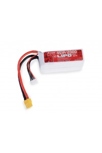 Power Pack LiPo 4/2000 14,8 V 70C XT60