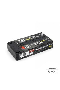 Sunpadow 7.6V 2S HV LC 4000mAh 100C/50C Shorty LiPo Battery