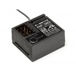 AKCE - HPI104060 - HPI RF-30 přijímač (2.4GHz /2kanál/6V, 5čl aku
