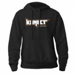 KONECT černá mikina s kapucí - vel. L