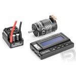 AKCE - XERUN kombo SCT Pro C2 s E motorem 4000kV a LCD programátorem