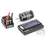 AKCE - XERUN kombo SCT Pro C1 s E motorem 4700kV a LCD programátorem