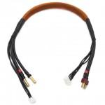 3S černý nabíjecí kabel 400mm, G4/T-DYN
