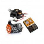 COMBO BRUSHLESS 50Amp WP s 4P 3652SL 5400Kv motorem + programovací karta
