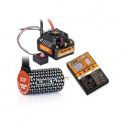 COMBO BRUSHLESS 80Amp SCT WP s 4P 3660SL 3700Kv motorem + programovací karta