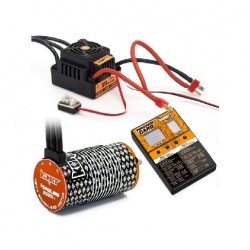 COMBO BRUSHLESS 100Amp WP s 4P 4274SL 2000Kv motorem + programovací karta