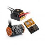 COMBO BRUSHLESS 150Amp WP s 4P 4268SL 1900Kv motorem + programovací karta