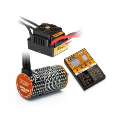 COMBO BRUSHLESS 150Amp WP s 4P 4274SL 2000Kv motorem + programovací karta