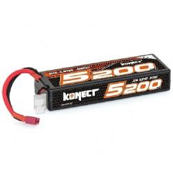 KONECT LiPo 5200mah 7.4V 30C 2S1P 38,4Wh (T-Dean )