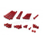 Hliníkové šrouby červené pro EX-RR/EX-2, sada