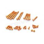 Hliníkové šrouby oranžové pro EX-RR/EX-2, sada