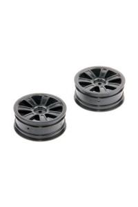 Přední disky, černé, 2ks. - S10 Twister - 1/10 2WD Buggy