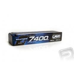 HV Stock Spec GRAPHENE-4 7400mAh Hardcase Akku - 7.6V LiPo - 135C/65C