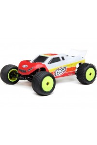 RC auto Losi Mini-T 2.0 Brushless 1:18 RTR - červeno-bílá