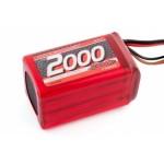 XTEC LiFePo 2000 RX-Pack 2/3A Hump – RX – 6.6V