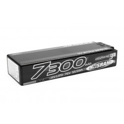HV Stock Spec GRAPHENE-3 7300mAh Hardcase Akku - 7.6V LiPo - 130C/65