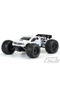15BRUTE lakovaná karoserie, bílá, předříznutá pro TRX E-REVO 2.0
