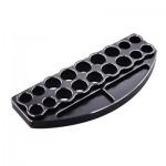 Hliníkový stojánek pro 18 ks. klíčů/šroubováků černý