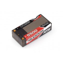 RUDDOG 5500mAh 100C 7,6V LiHV GRAPHENE Plus Shorty sada