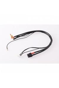 2S černý nabíjecí kabel G4/G5 - krátký 600mm - (XT60, 7-pin XH)
