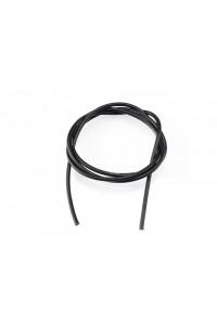 14AWG/2,1qmm silikon kabel (černý/1m)