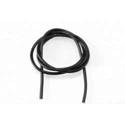 12AWG/3,3qmm silikon kabel (černý/1m)