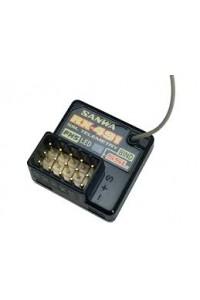 SANWA RX-491 FHSS-3,4,5/SUR,SSL přijímač (telemetrický)