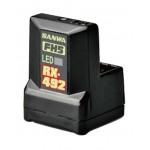 RX-492 FHSS-5/SUR,SSL přijímač (telemetrický)