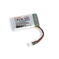 LiPo 1/600 3,7V 30C 2,22Wh pro Alpha 110