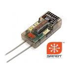 Spektrum přijímač AR637T DSM2/DSMX 6CH AS3X s telemetrií