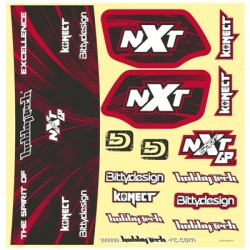 Nálepky NXT GP