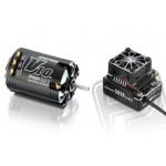 COMBO XR10 PRO černý s XERUN V10 6,5T závitů - G2 - černý