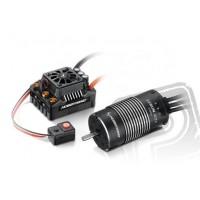 AKCE - COMBO MAX8 TRX konek. s EZRUN 4274 SL 2200Kv - černý