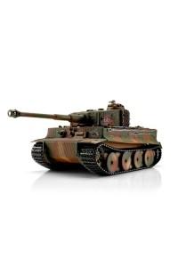 TORRO tank PRO 1/16 RC Tiger I střední verze vícebarevná kamufláž - infra IR - kouř z hlav