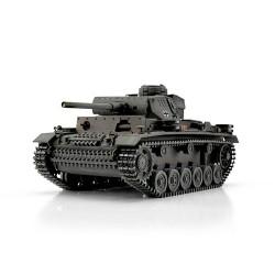 TORRO tank PRO 1/16 RC PzKpfw III provedení L šedá kamufláž - BB Airsoft