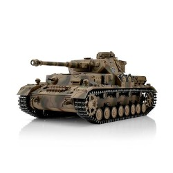 TORRO tank PRO 1/16 RC PzKpfw IV provedení G vícebarevná kamufláž - BB Airsoft