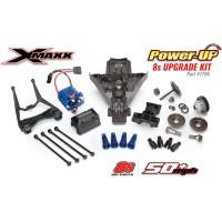 Traxxas X-Maxx - Konverzní sada Power-UP 8S Core