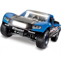Traxxas Desert Racer 1:8 TQi RTR s LED osvětlením - Modrá