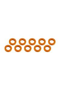 3x6x1mm alu podložky oranžové (10 ks.)