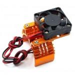 Chladič motoru 540/550 s ventilátorem - oranžový