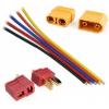 Konektory, kabely, spínače