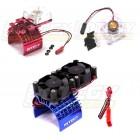 Chlazení el.motorů, ventilátory