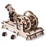 Dřevěná stavebnice 3D mechanického Puzzle - Motor
