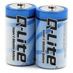 Alkalické baterie sub-C 1,5V 2ks